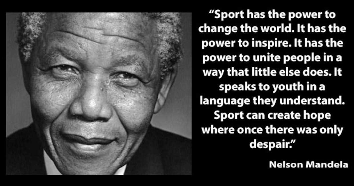 Why we need sports…And Why I love Them