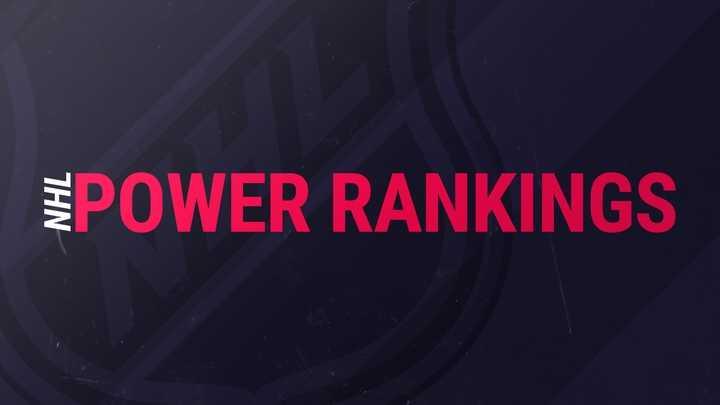NHL Power Rankings: Episode 1