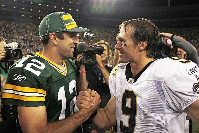 Drew Brees is Better Than Aaron Rodgers