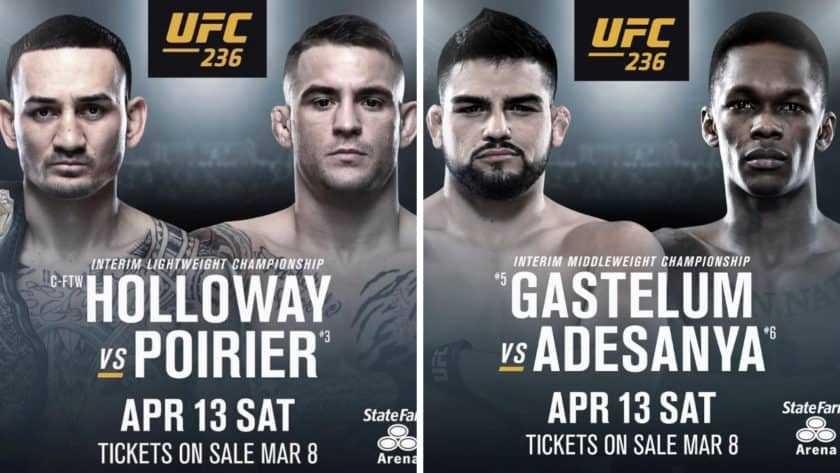 UFC 236 Previews and Predictions