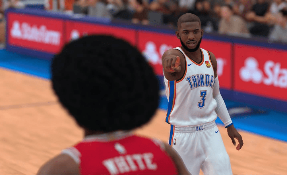 Chris Paul, NBA 2K19, Oklahoma City Thunder