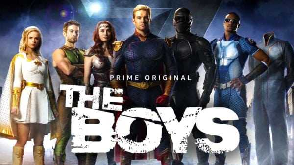 The Boys Poster - Best Shows in the Rest of 2019