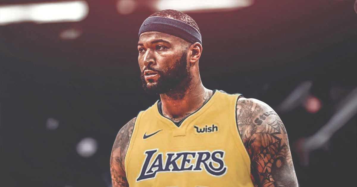 DeMarcus Cousins Out, Los Angeles Lakers