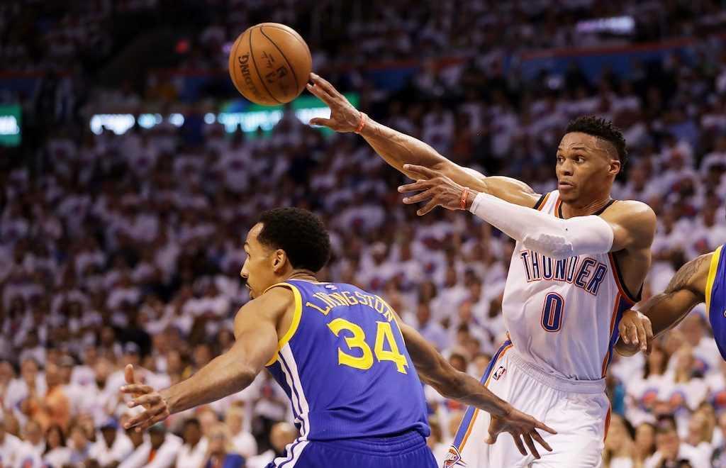 Russell Westbrook, Chris Paul, NBA's Top 5 Passers, LeBron James, John Wall, Rajon Rondo