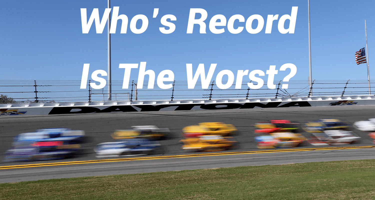 Who Has The Worst Record in NASCAR History?