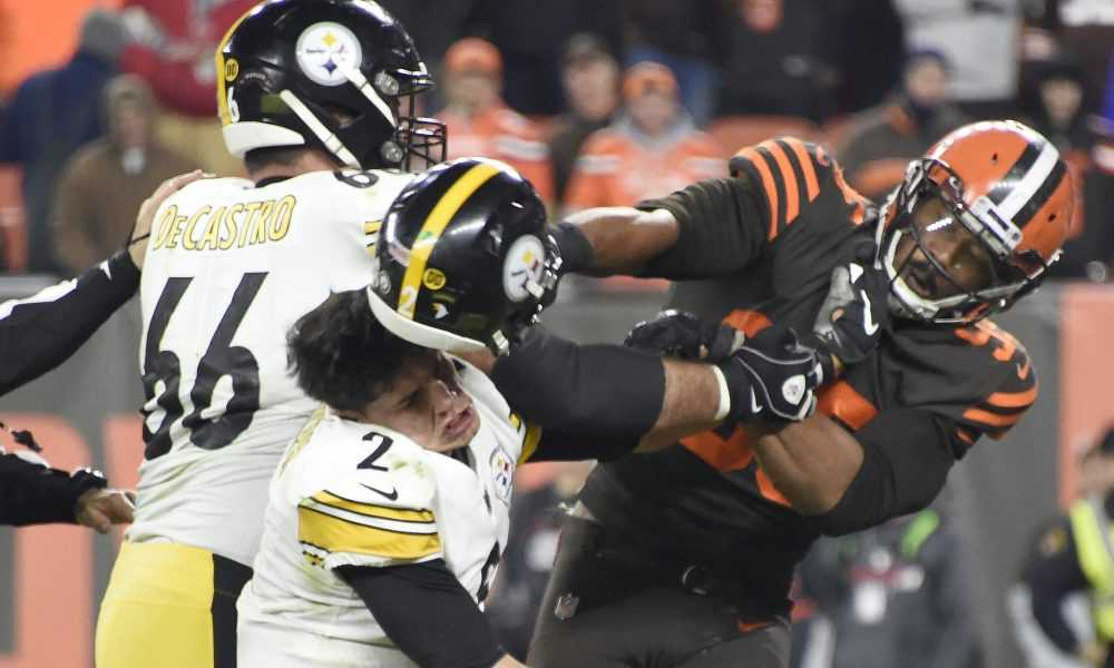 The Browns Beat The Steelers.. Literally.