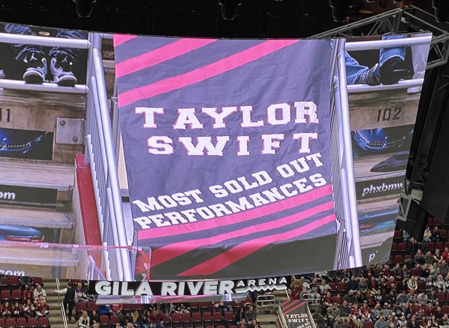 The Coyotes and Taylor Swift Own the Los Angeles Kings