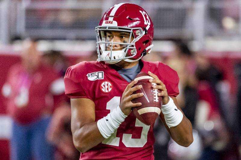 Alabama Crimson Tide Starting QB: Tua Tagovailoa