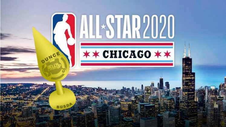 NBA All-Star 2020 Voters – Belly Up Sports Dunce Award
