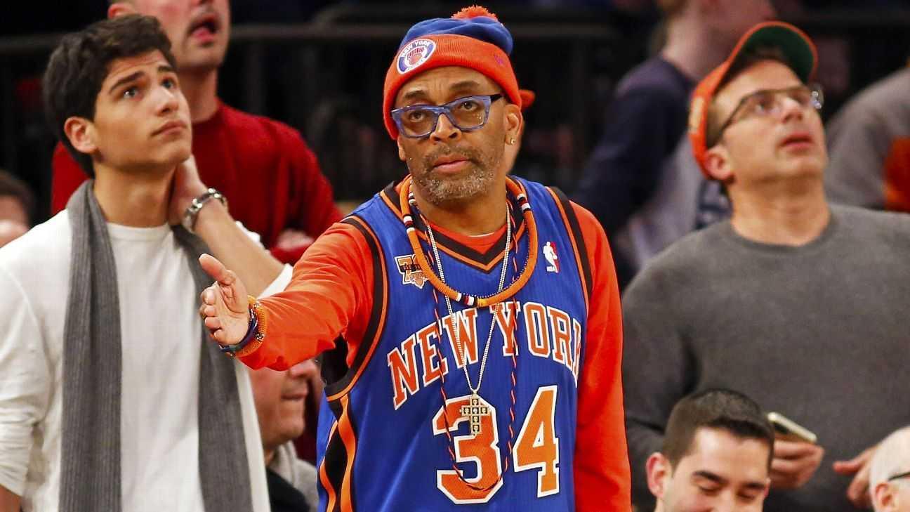 Knicks' Fan Spike Lee: The Last Straw
