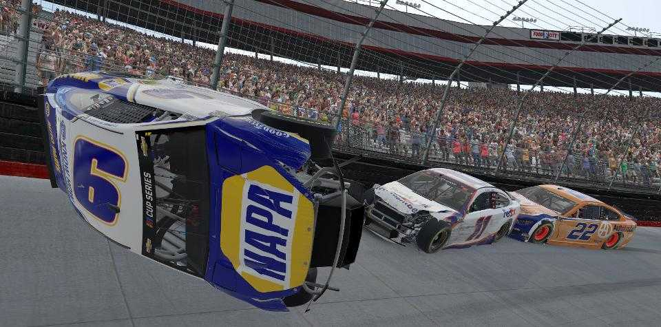 Quit Griping about iRacing wrecks