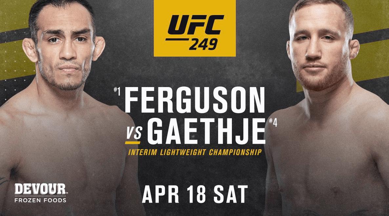 UFC 249: Dana White's Fight Island