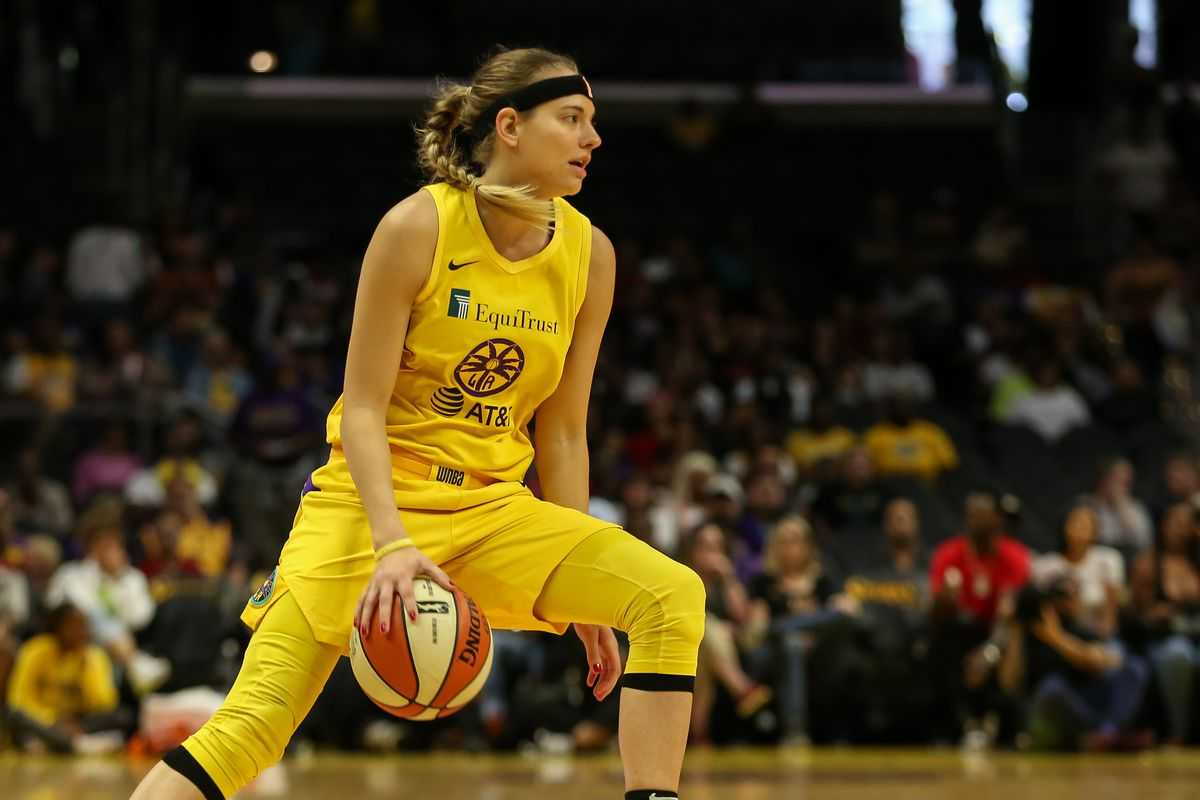 Sparks Sign Sydney Wiese To Contract Extension