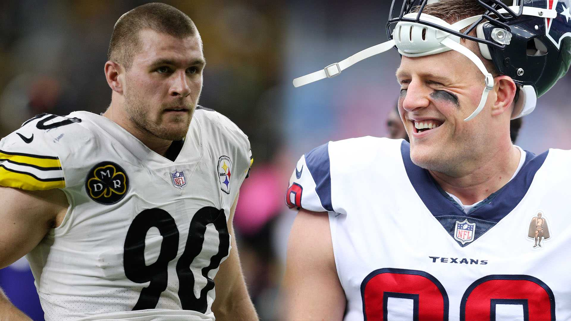 The Watt brothers are in a constant battle for bragging rights