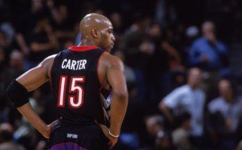 Vince Carter's number 15