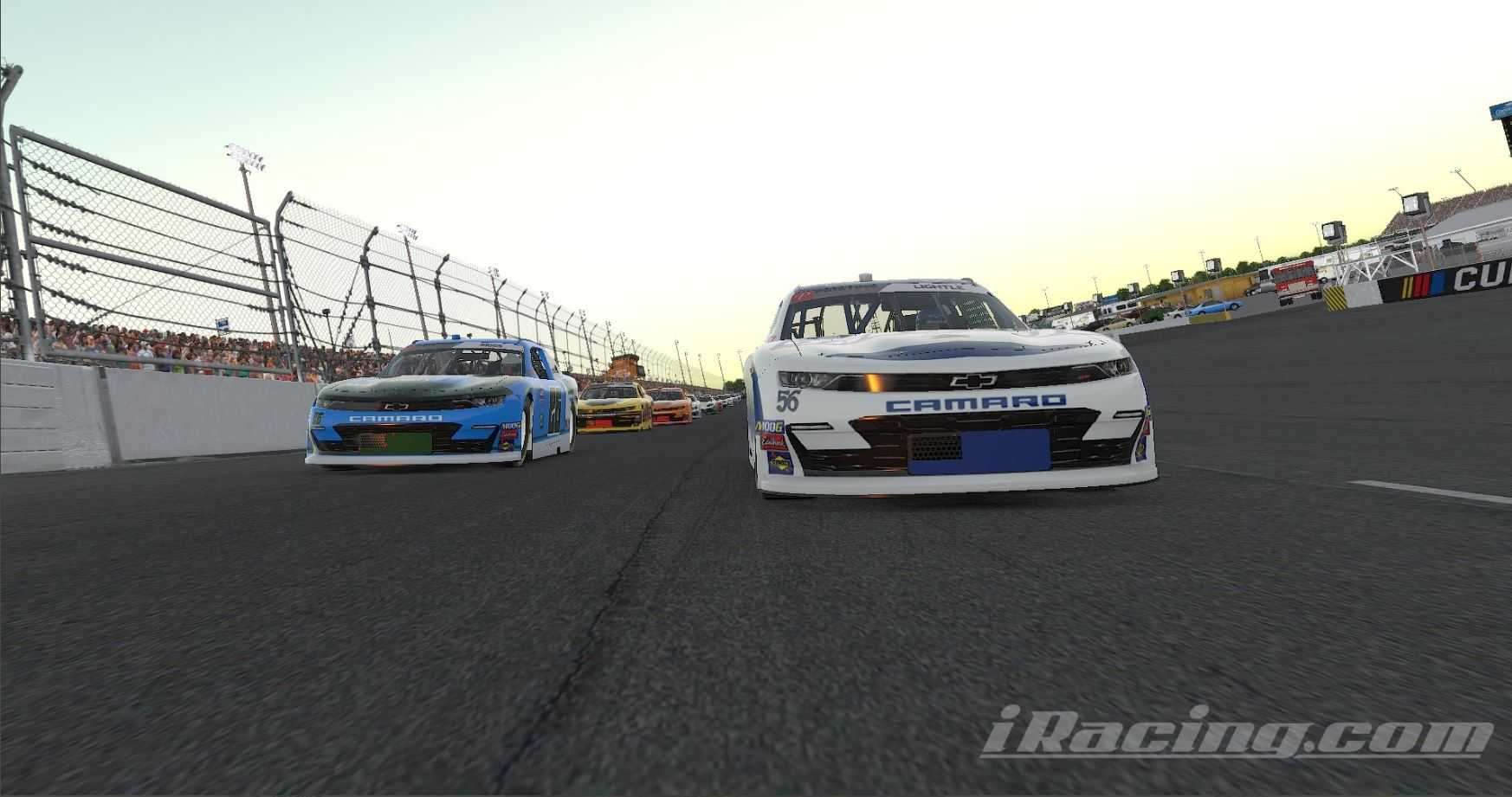 Lightle's Late Mistake Allows Adams to Capture Second Victory