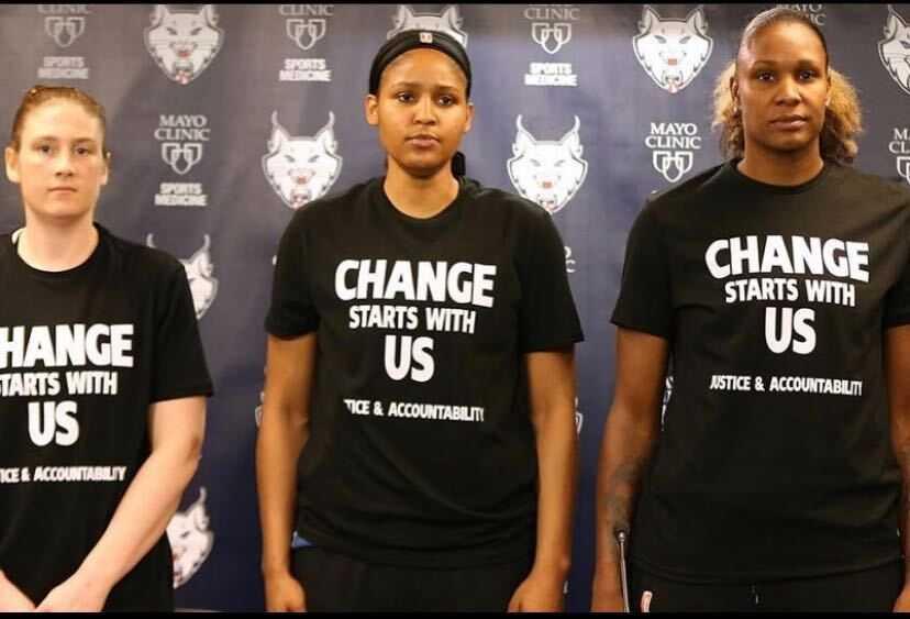The WNBA Makes an Impact on George Floyd's Legacy