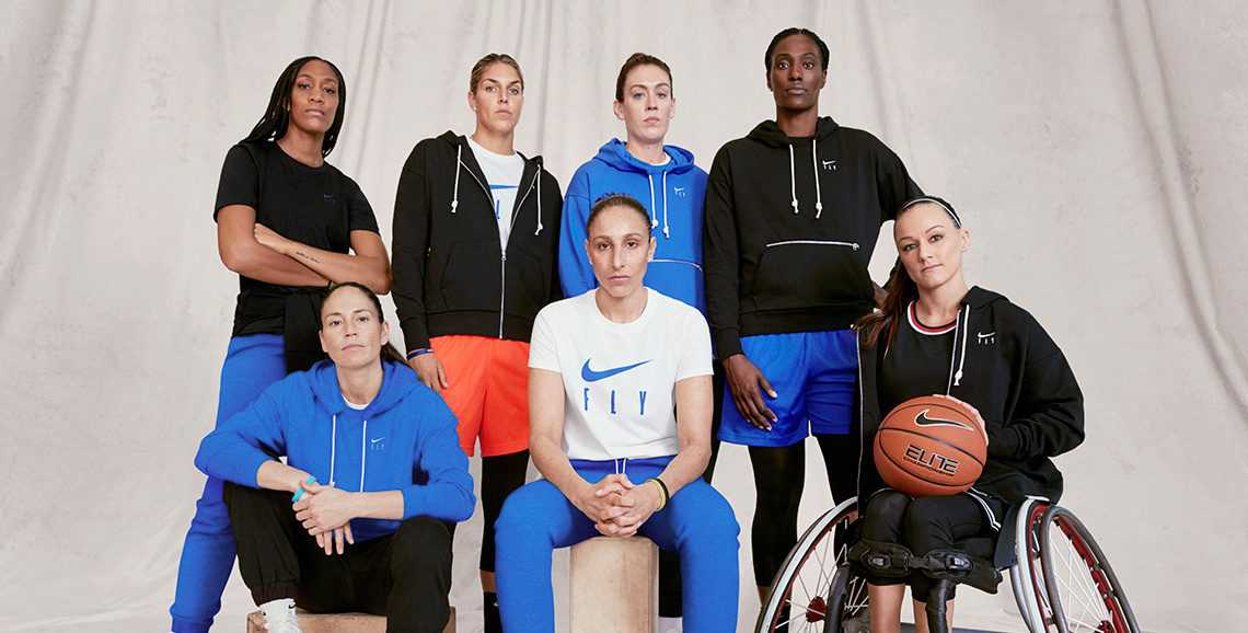 The WNBA is the Face of Nike's New Line