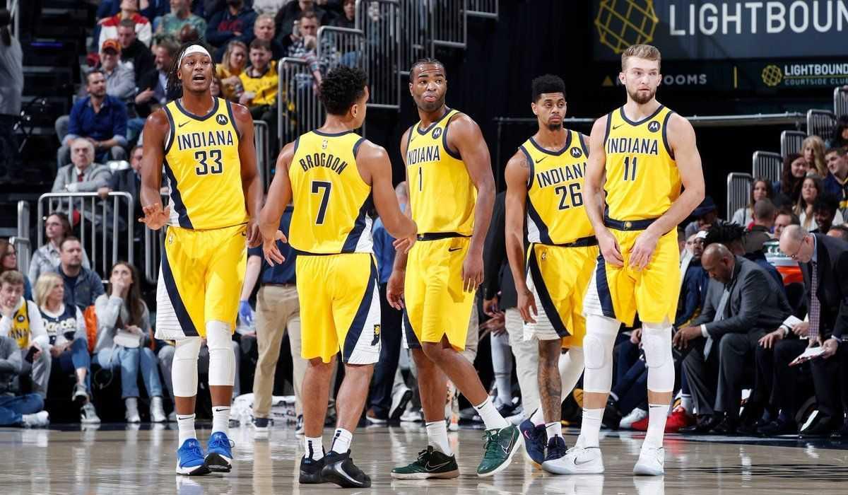 Indiana Pacers Aufstellung