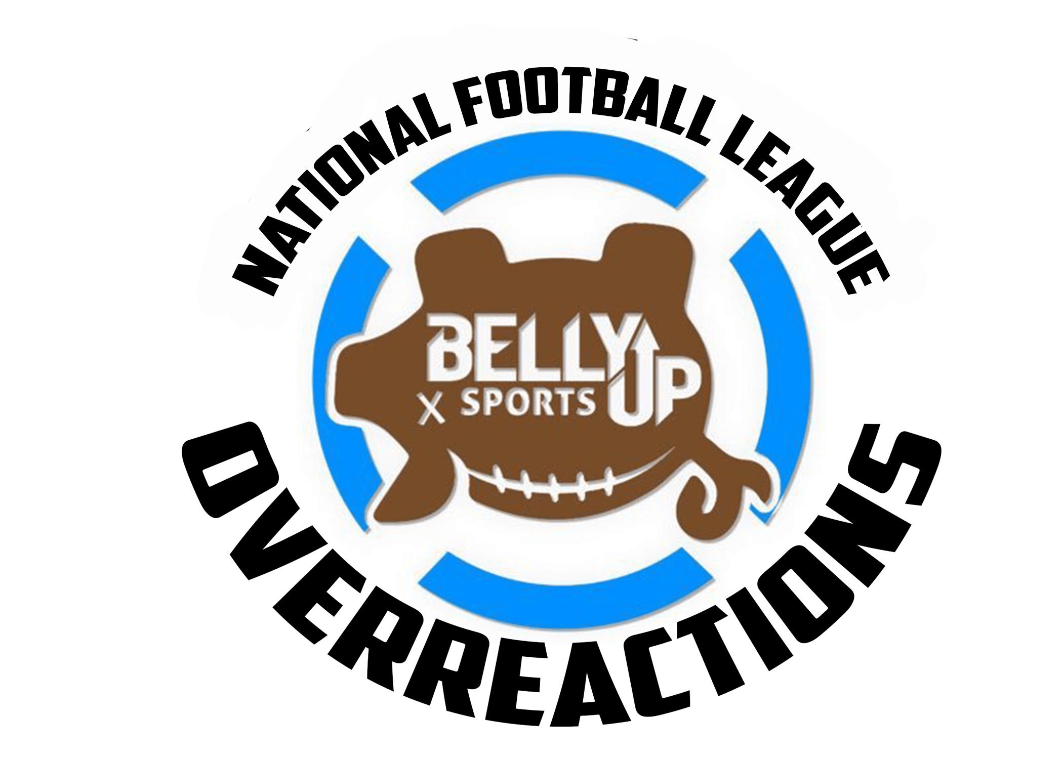 NFL Week 2: Overreaction Time