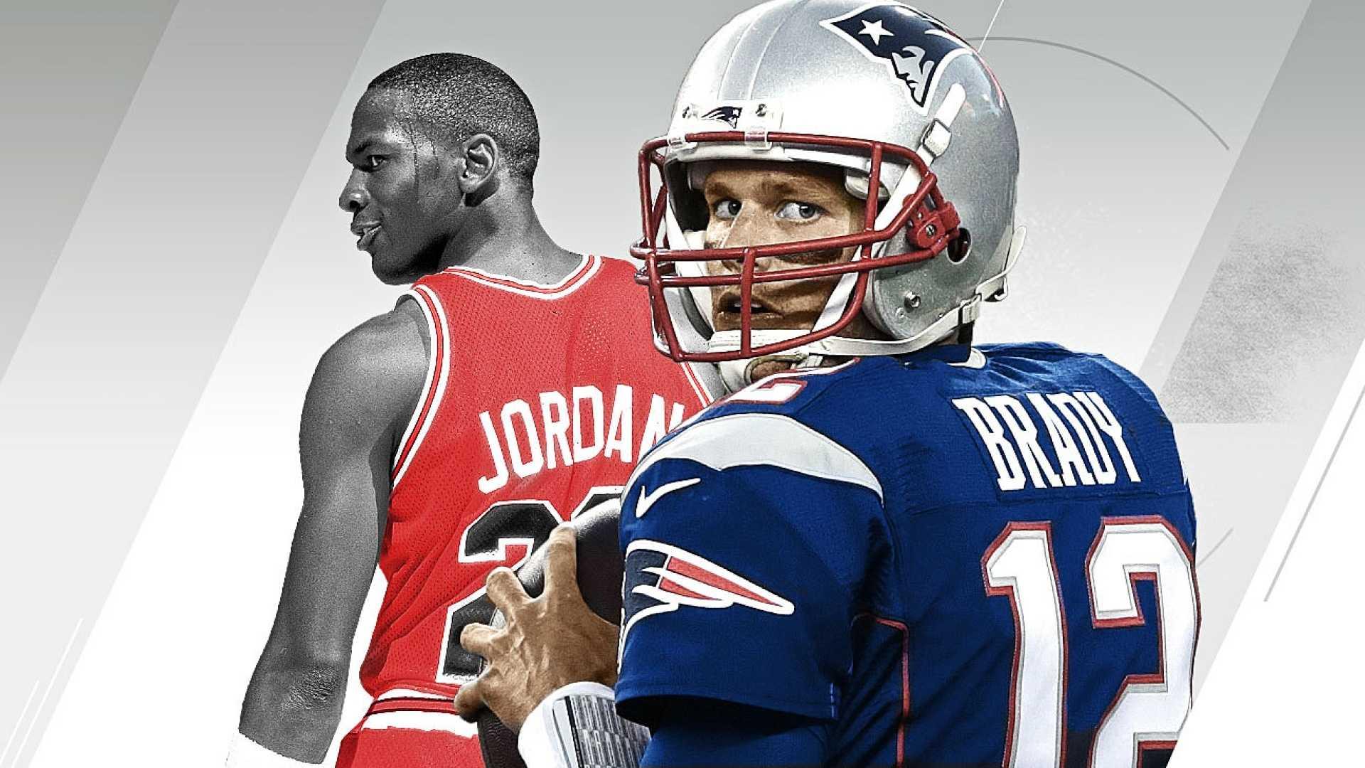 True GOAT: Brady or Jordan?
