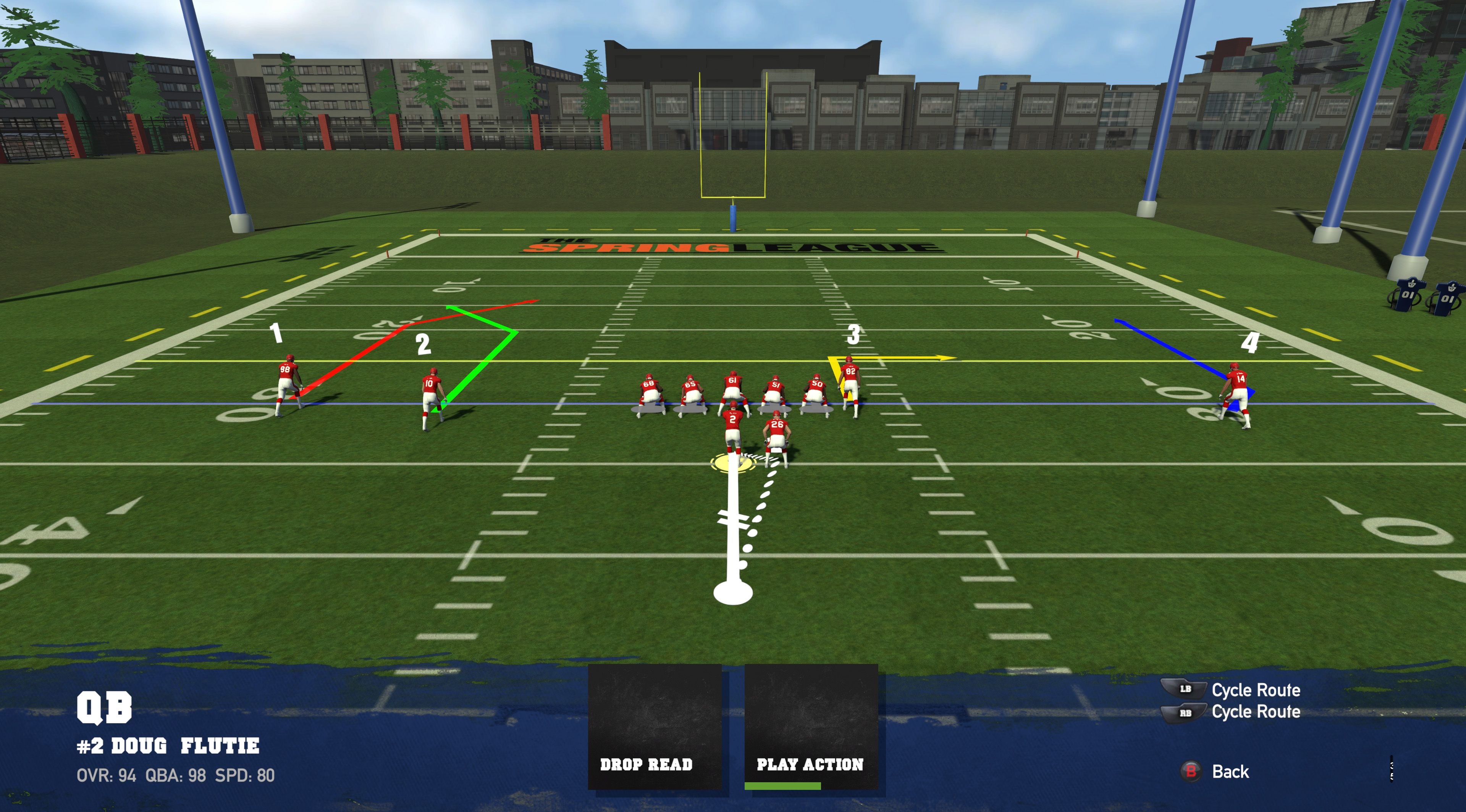 Doug Flutie's Maximum Football play Designer