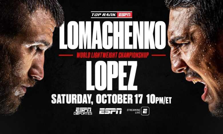Lomachenko vs. Lopez – Look for Blood