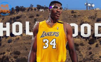 Hakeem Olajuwon Rockets to Lakers