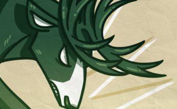Stylized Milwaukee Bucks logo