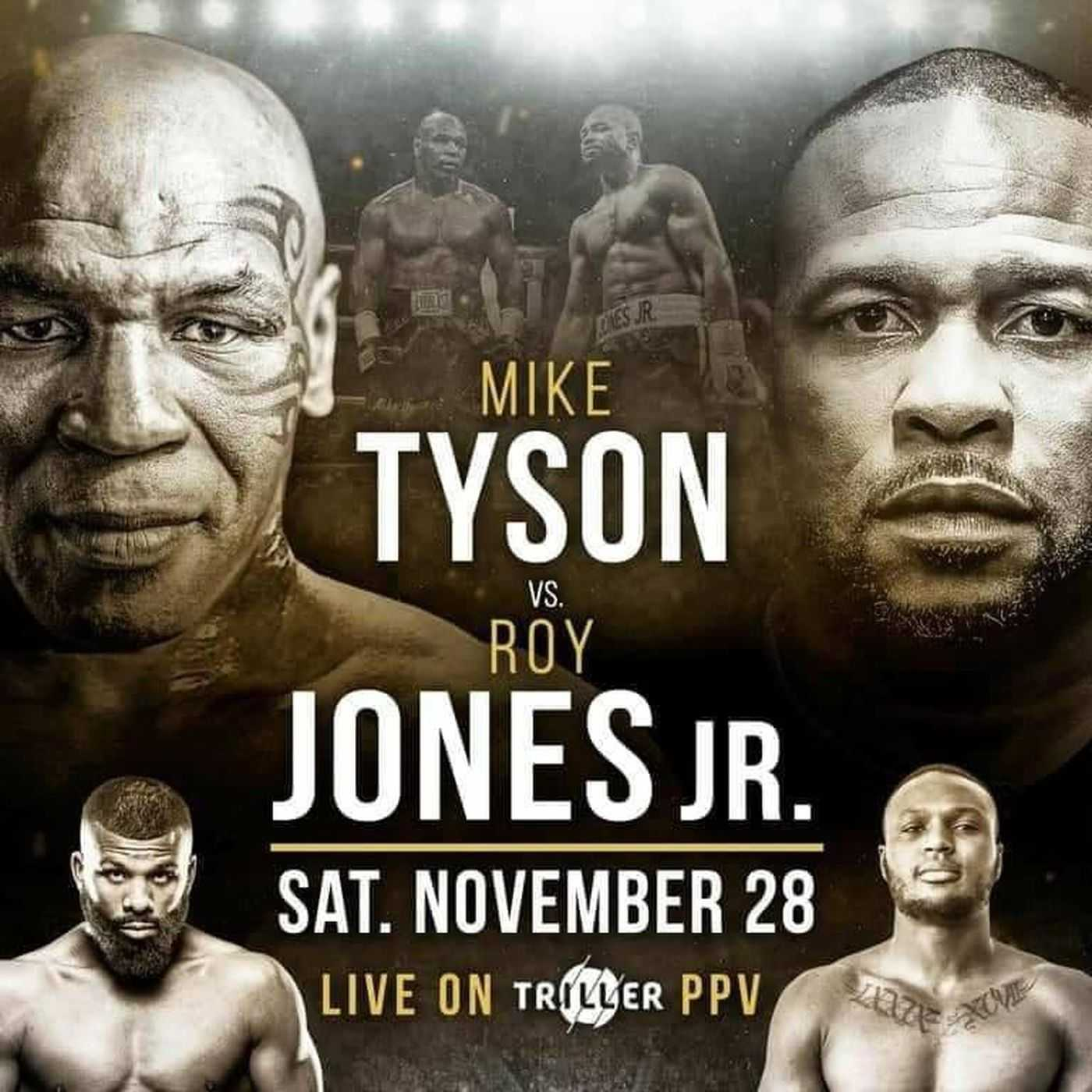 Mike Tyson and Roy Jones Jr. Turn Back the Clock