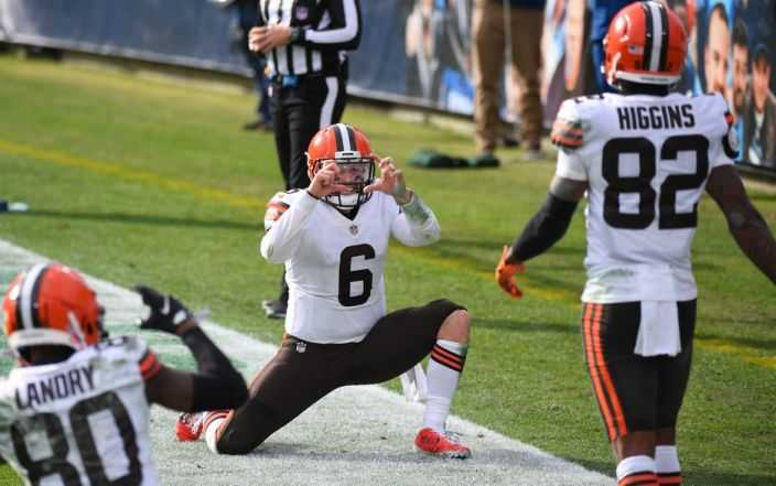 Baker Mayfield and the Browns Performed the Best Celebration of the Year
