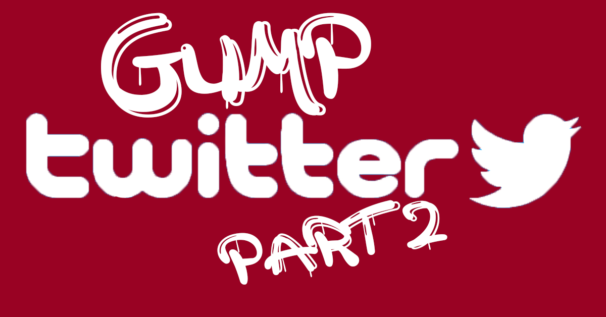 Gump Twitter: A Guide to Bama Must Follows Part Two