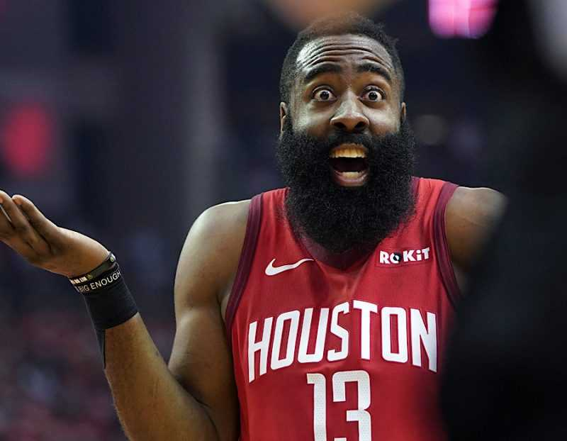 "Harden Changes Relationship Status With Houston to ""It's Complicated"""