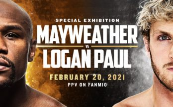 Mayweather vs. Logan Paul promo image