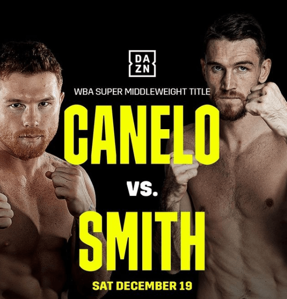 Tall Order for Canelo to Beat Callum Smith