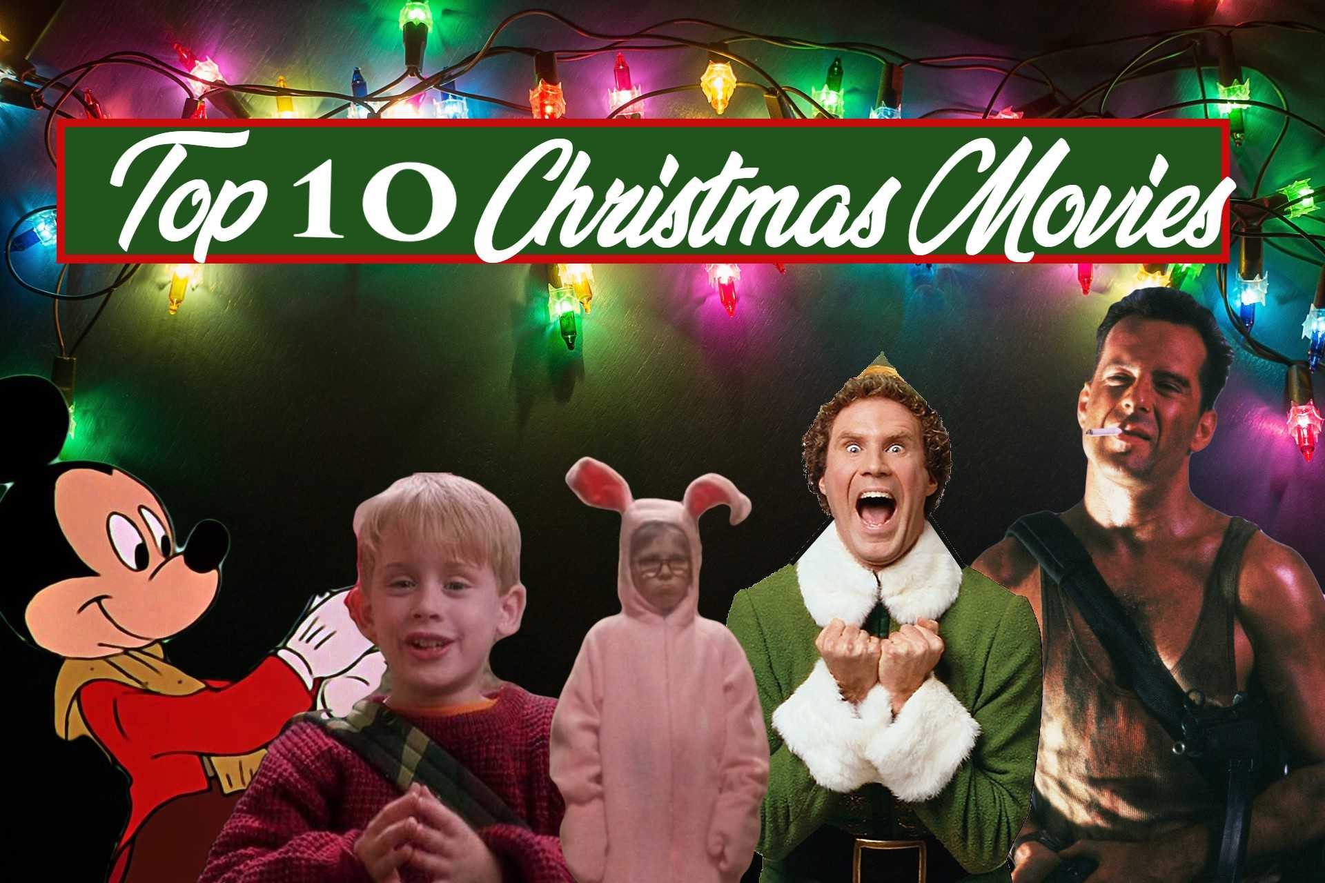 Top 10 Christmas Movies All-Time