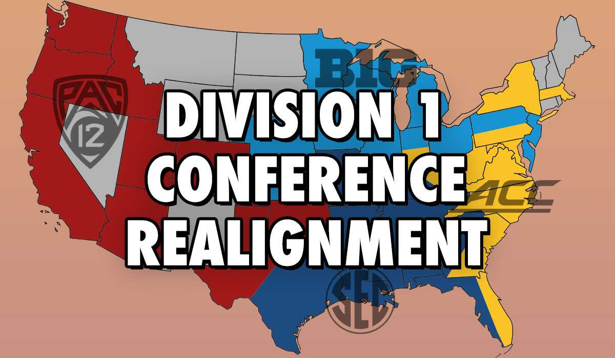 College Football Conference Realignment | Four Ultimate D1 Conferences