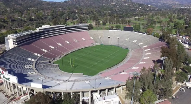 The Rose Bowl will not be played in Pasadena this year
