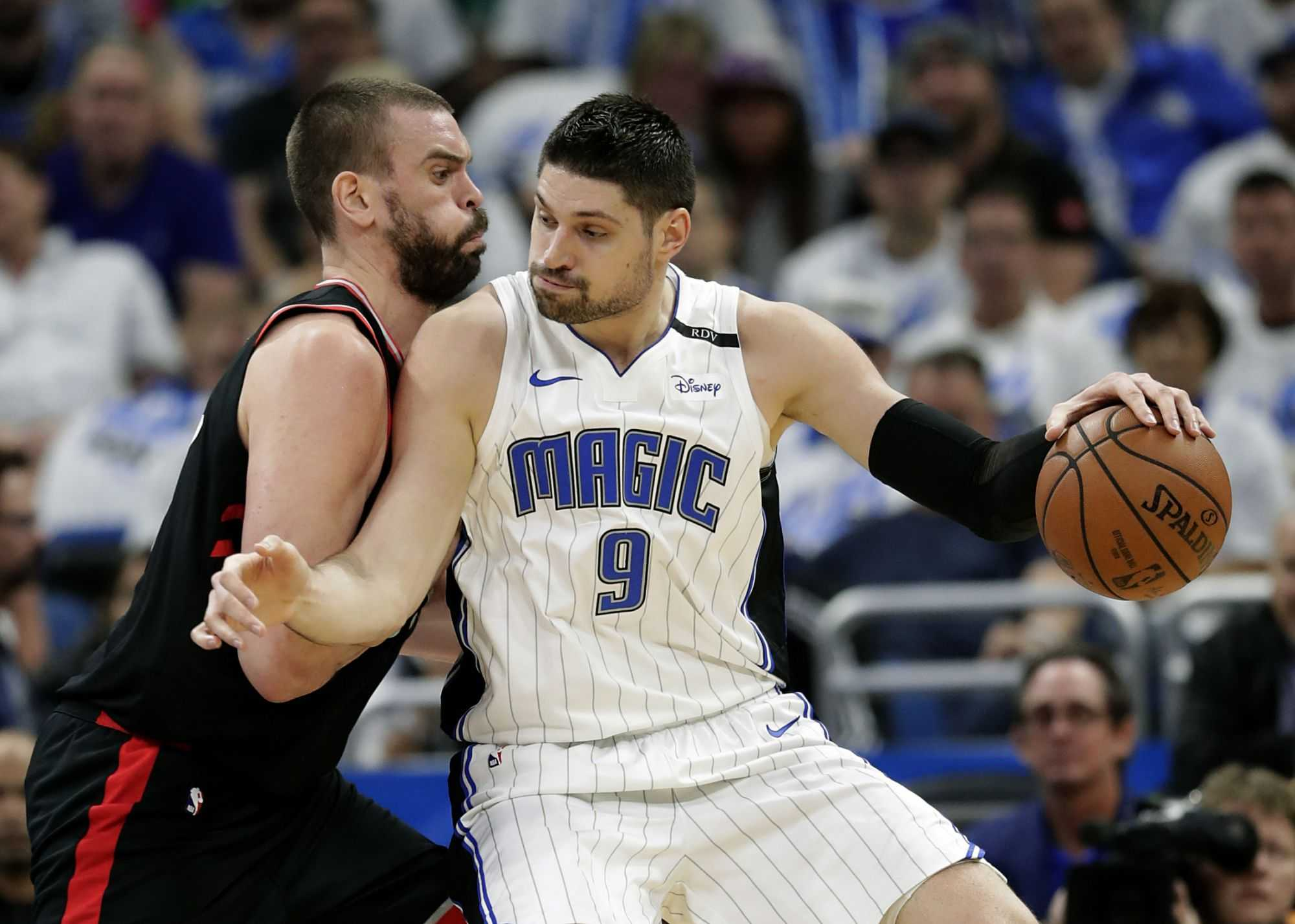 Nikola Vucevic might be on the move is Boston a likely landing spot?