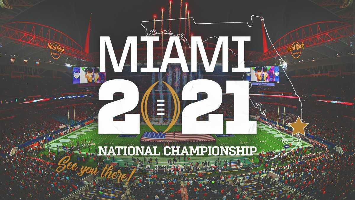 2021 NCAA Football Championship as a Football Newbie
