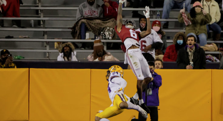 The greatest catch in the LSU-Alabama Rivalry