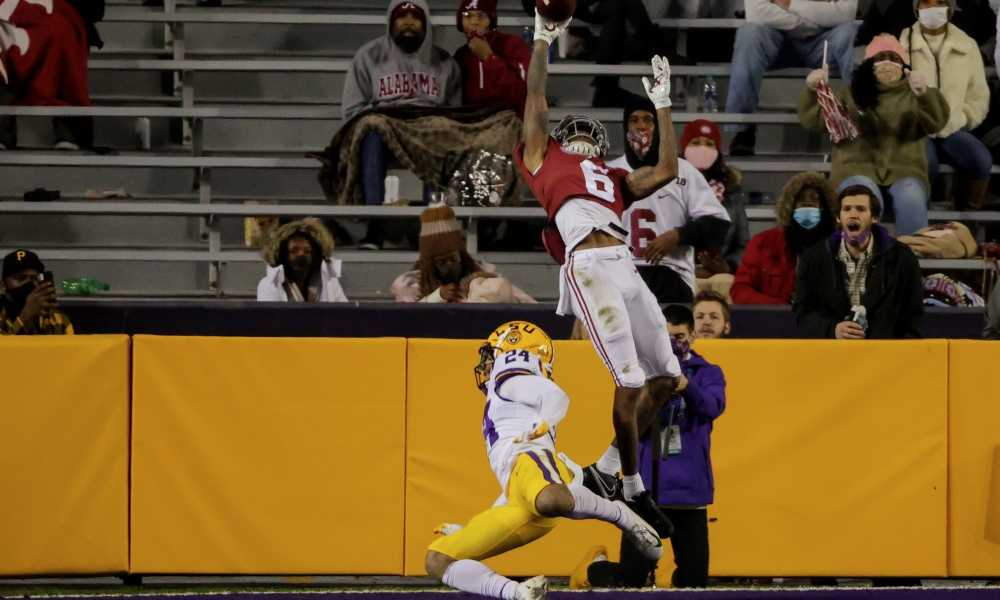 The greatest catch in the LSU-Alabama Rivalry