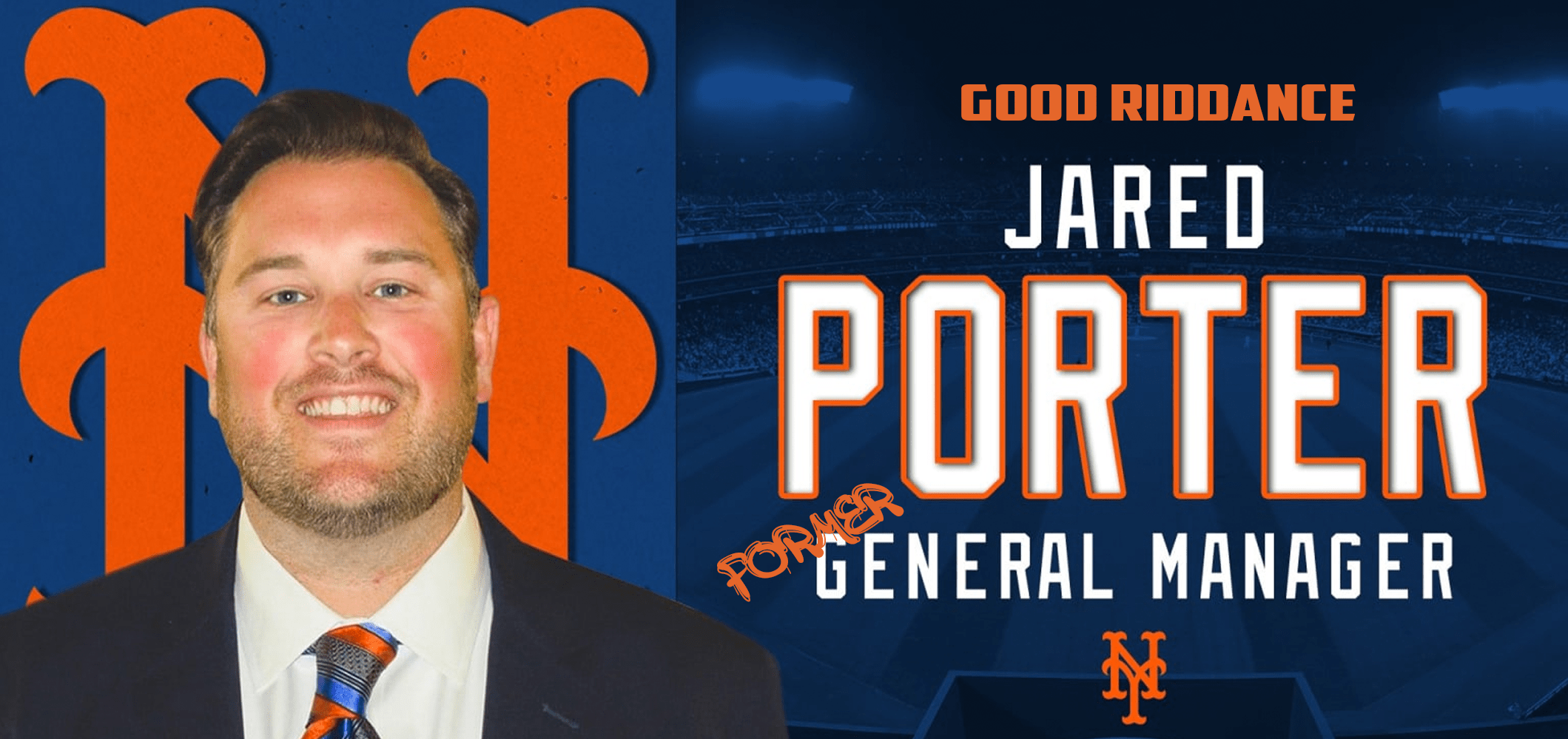 Former Mets GM Jared Porter is a Danger to Society