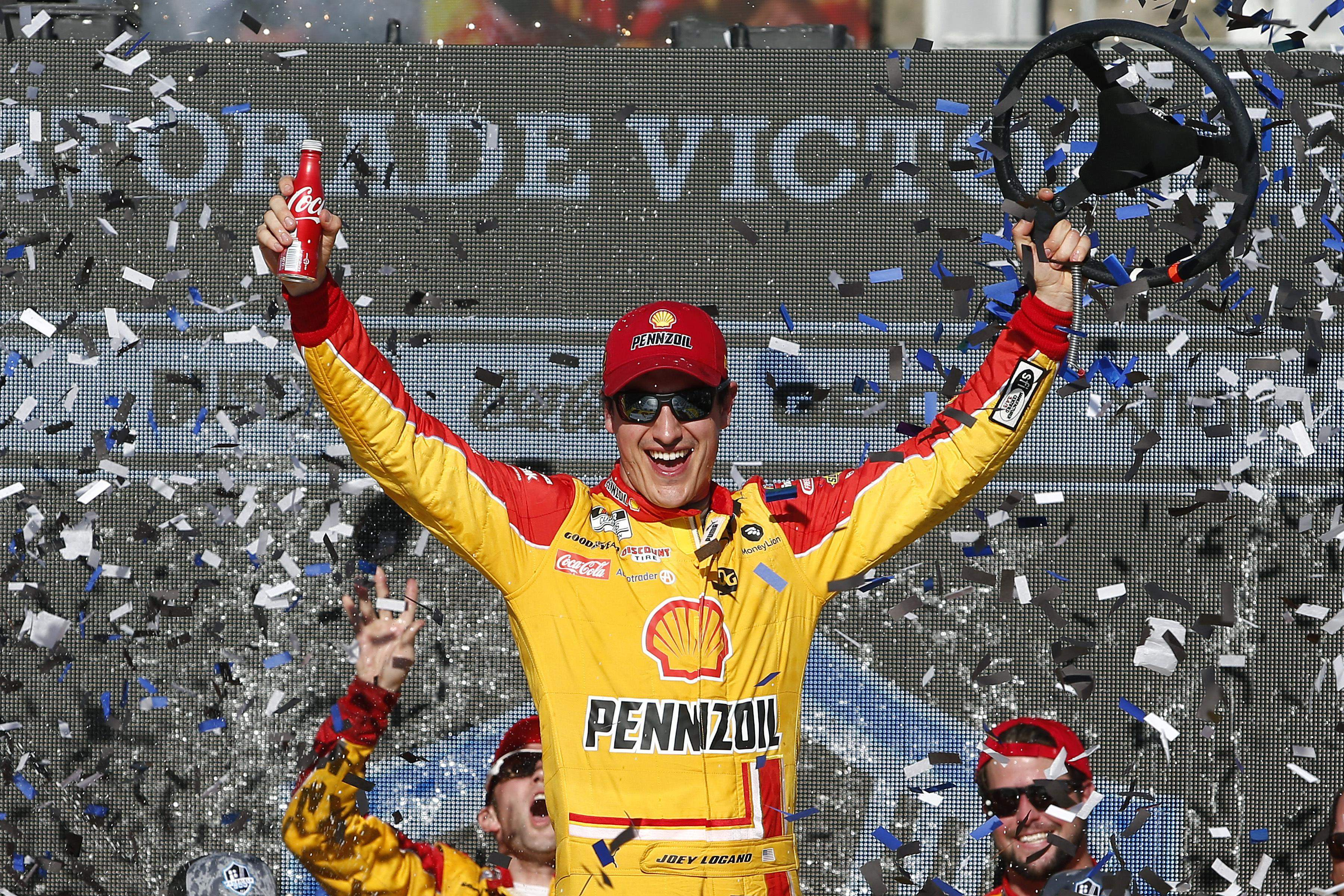 Logano won three times last season in his 22 Ford Mustang. I bet he'll add to his successful career with more wins this year making him a top driver to watch.