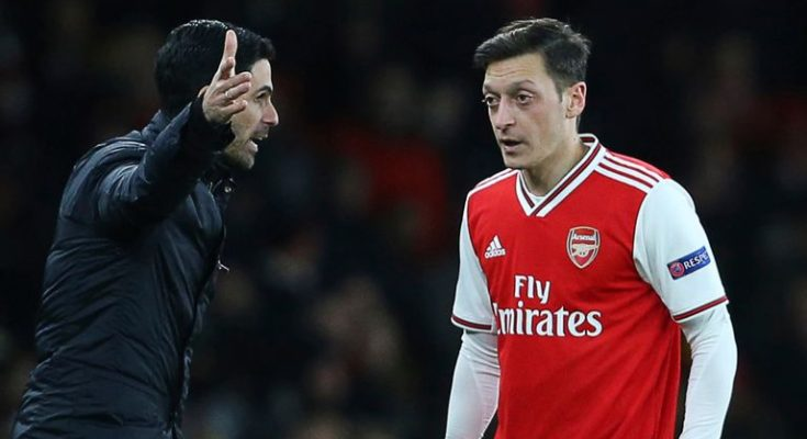 Who will replace the recently departed Mesut Ozil?