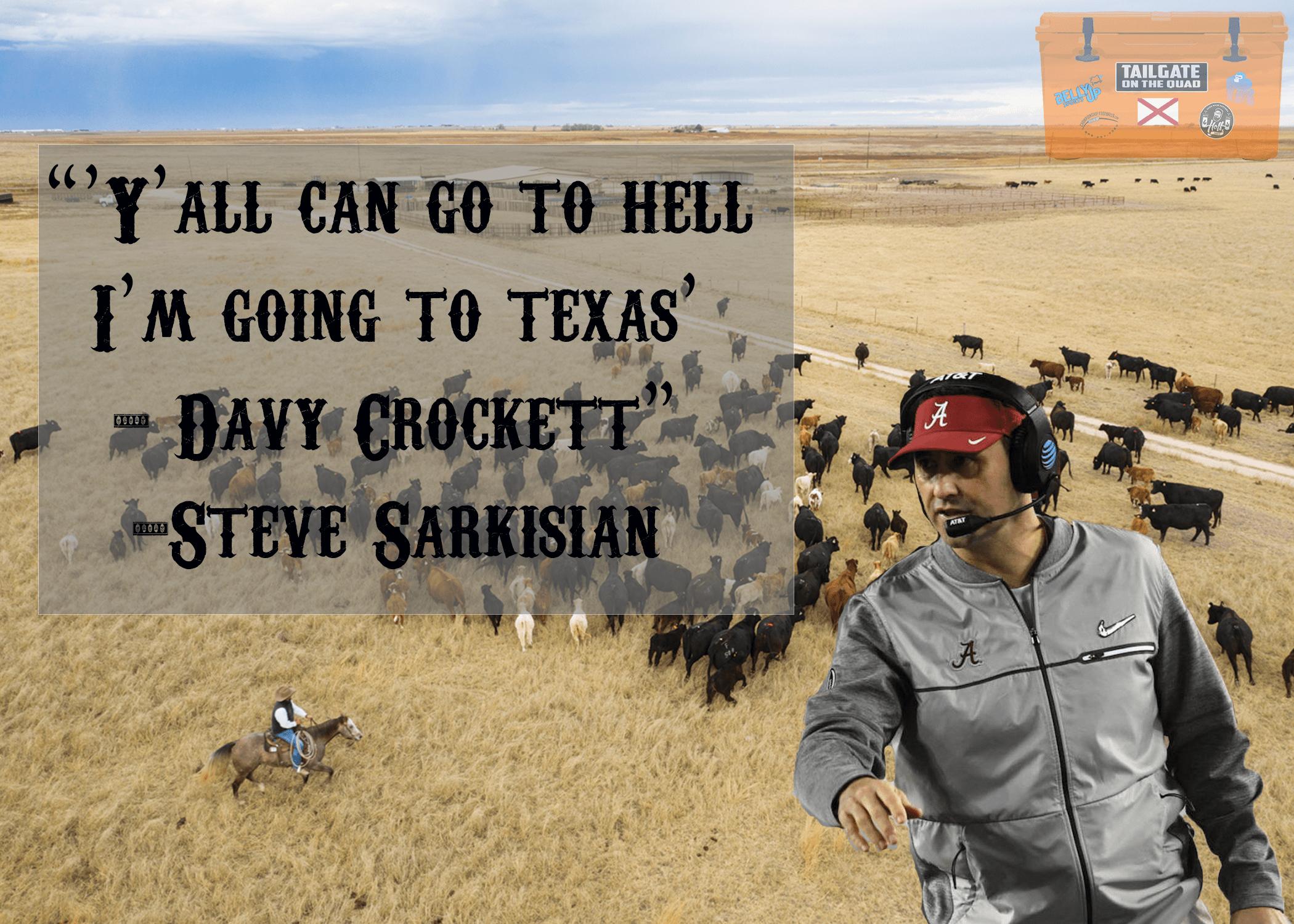 Sarkisian to Texas: It's So Hard to Say Goodbye