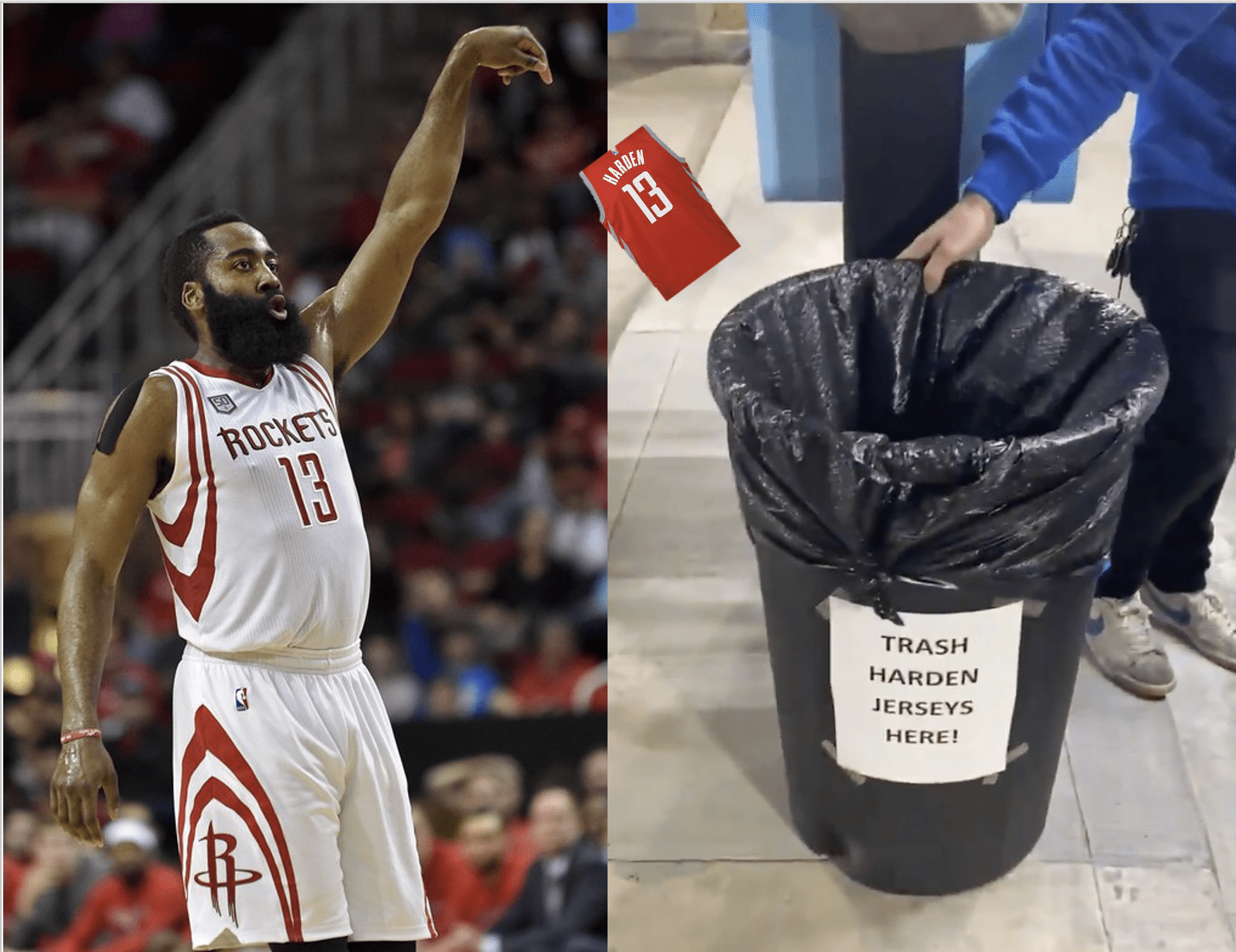 Houston Car Wash Offers Free Washes for Harden Jerseys