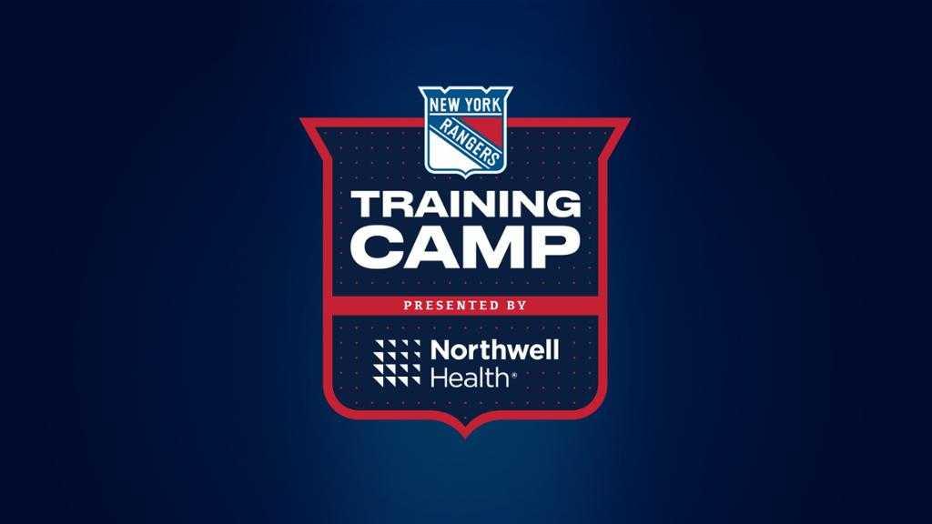 New York Rangers Open Training Camp