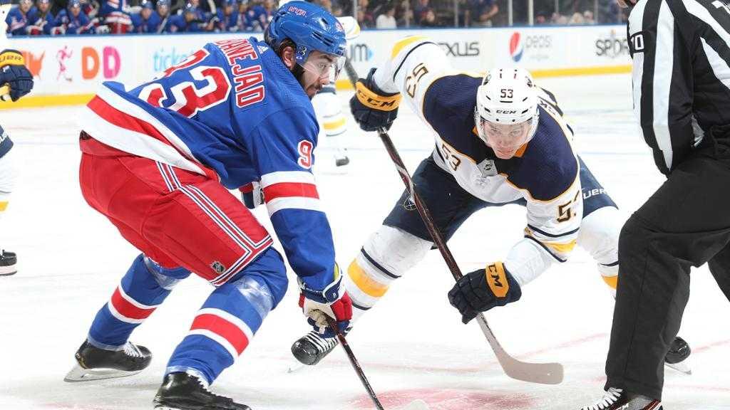 Rangers Head to Buffalo