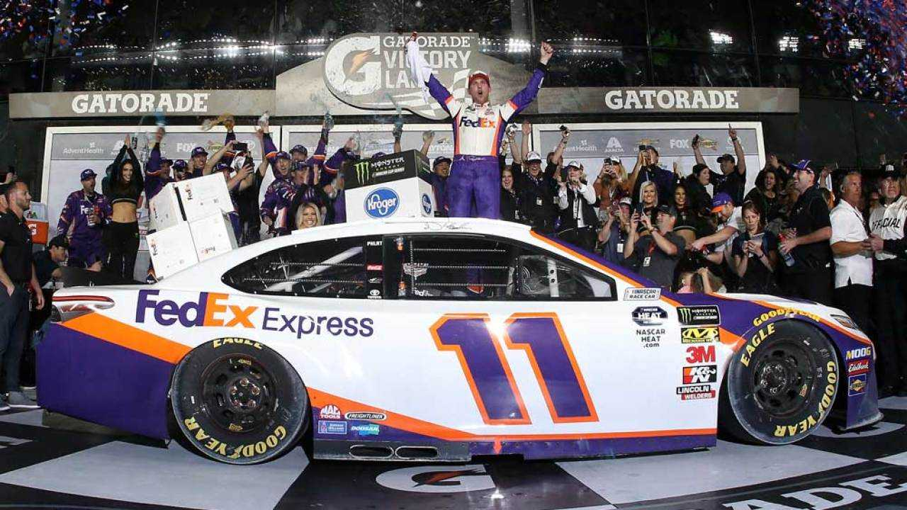 With seven wins on the season, Hamlin is one of the top drivers to watch in 2021.